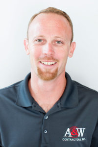 Chad Hoskins, Grade Foreman